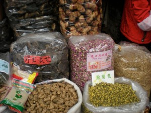 Herbs used in Traditional Chinese Medicine